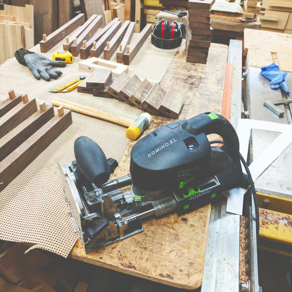 An insider look at the fabrication of our entryway bench in solid walnut.