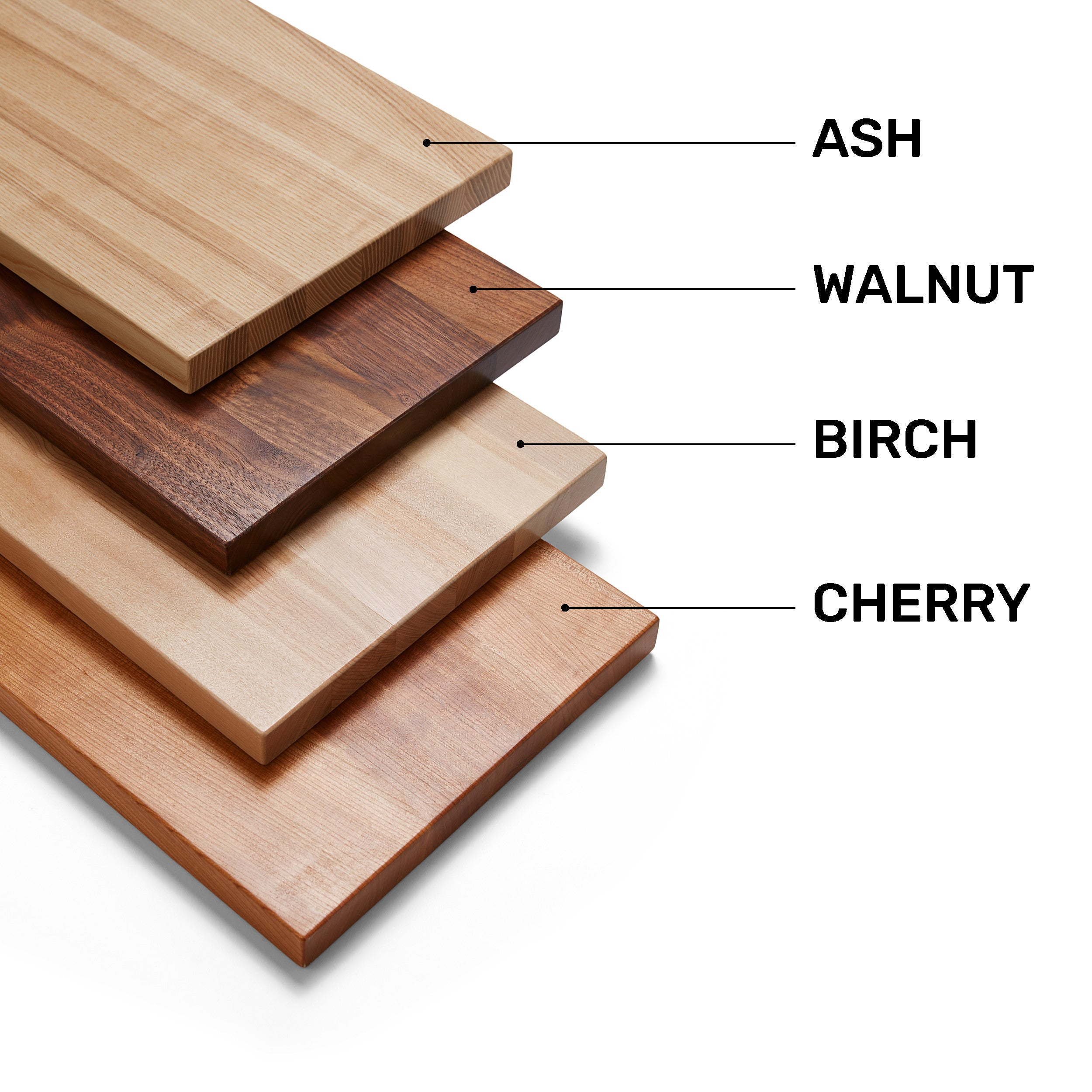 WOODS SPECIES USED FOR FURNITURE-WALNUT-BIRCH-CHERRY-ASH