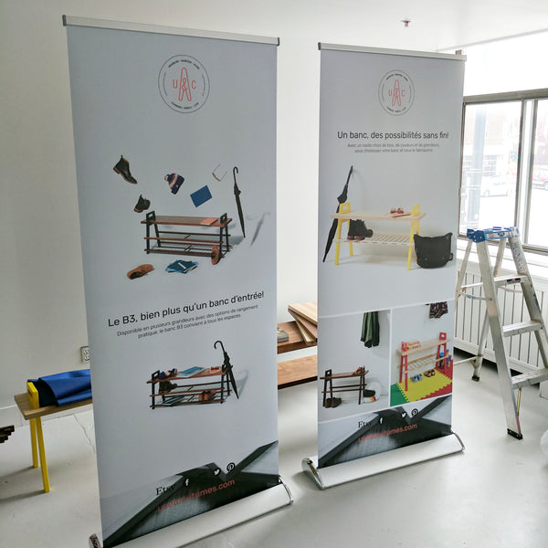Us et Coutumes_Roll-up banners