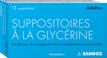 C59. Suppositoire Glycérine