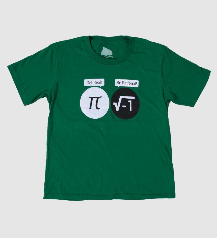 Be Rational Youth Tee - Kelly Green