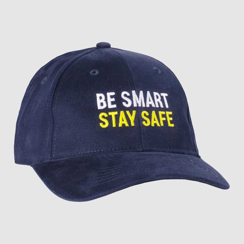 Stay Safe Cotton Hat - Navy