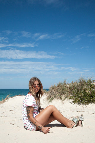 Sunday Stripes Beach Dress