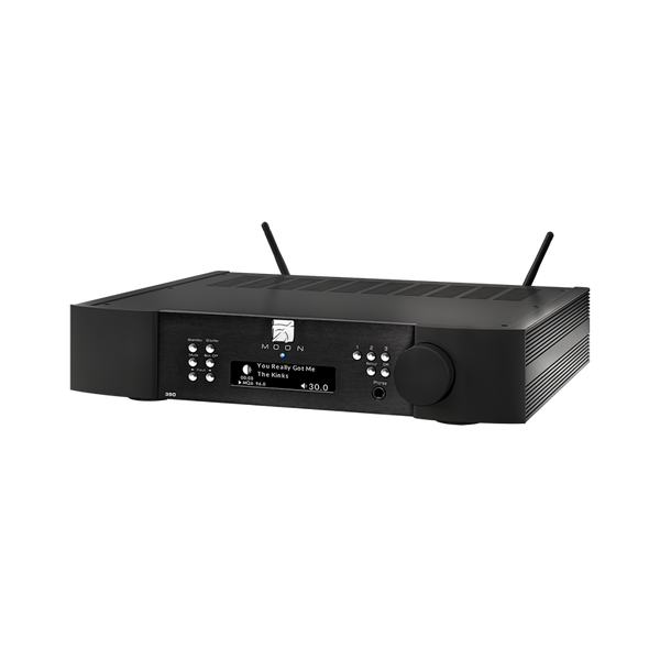MOON 390 Preamp Network Player DAC