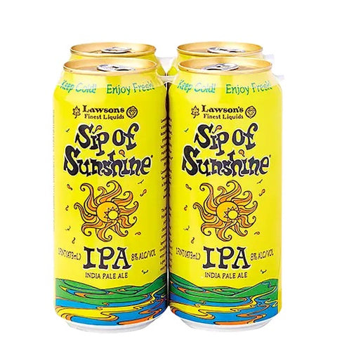 Lawson's Brewing - Sip of Sunshine 4pk 16 oz