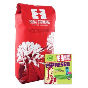 Equal Exchange Coffee Espresso Organic Fair Trade Bulk per Lb