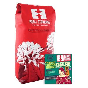 Equal Exchange Coffee French Roast DECAF Organic Fair Trade Bulk per Lb