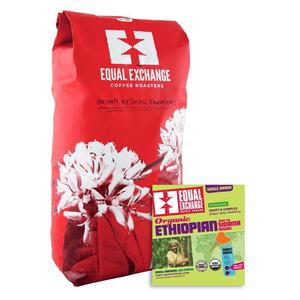 Equal Exchange Coffee Ethiopian Organic Fair Trade Bulk per Lb