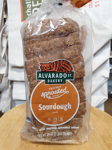 Bread Sourdough Sprouted Org 24oz