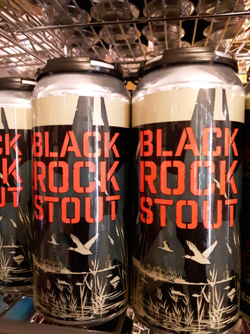 Crossroads Brewing - Black Rock Stout 4pk 16oz