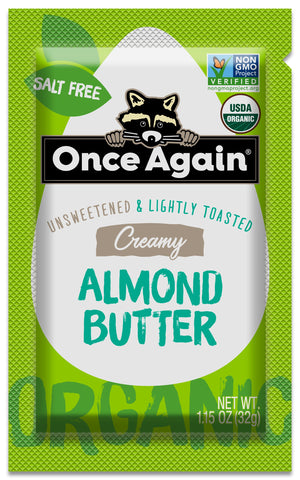 Almond Butter Creamy Squeeze Packet Once Again
