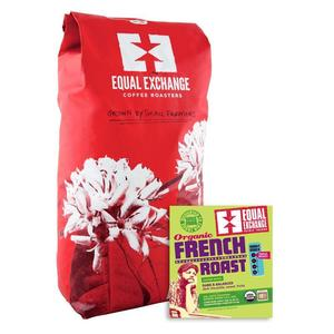 Equal Exchange Coffee French Roast Organic Fair Trade Bulk per Lb