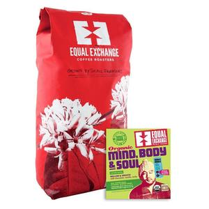 Equal Exchange Coffee Mind Body & Soul Organic Fair Trade Bulk per Lb