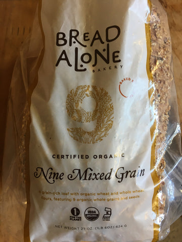 Bread Nine Mixed Grain Bread Alone