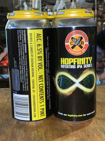 Chatham Brewing - Hopfinity IPA 4 Pk 16 oz cans