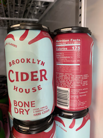 Brooklyn Cider House Bone Dry