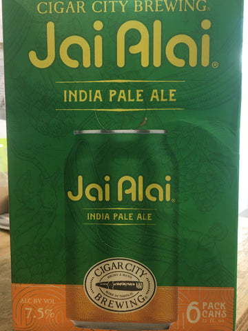 Cigar City Jai Alai 12oz/6pk