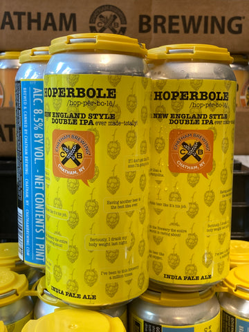 Chatham Brewing - Hoperbole 4Pk 16 oz