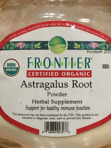 Astragalus Root Powder Org (per oz)