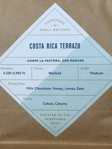 Coffee Costa Rica Terrazu 12oz