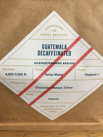 Coffee Guatamala Decaf 12oz