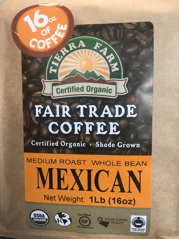 Coffee Mexican Org 1 Lb