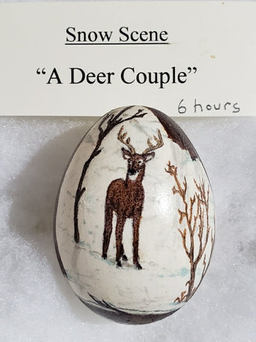 A Deer Couple, 2001 Marie Edwards