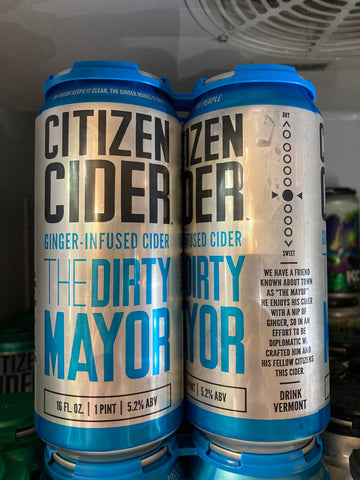 Citizen Cider - The Dirty Mayor 4 Pk 16 oz