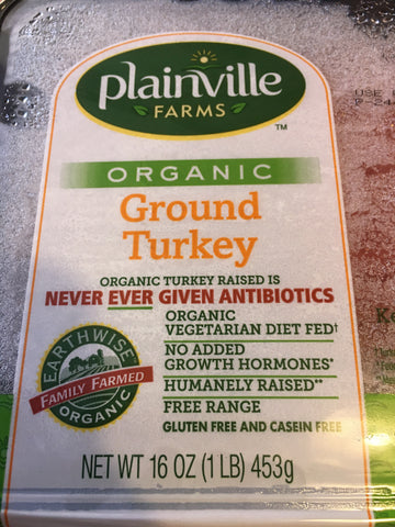 Ground Turkey Org 1Lb
