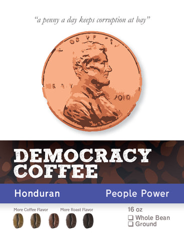 Coffee Honduran Org FT 1lb