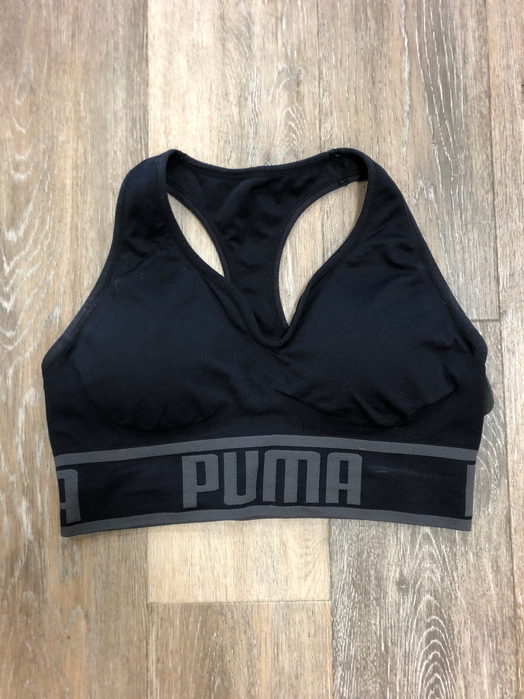 Primary Photo - BRAND: PUMA <BR>STYLE: BRA <BR>COLOR: BLACK <BR>SIZE: L <BR>SKU: 137-137191-4994