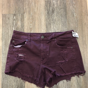 Primary Photo - BRAND: AMERICAN EAGLE STYLE: SHORTS COLOR: MAROON SIZE: 12 SKU: 137-13712-90511