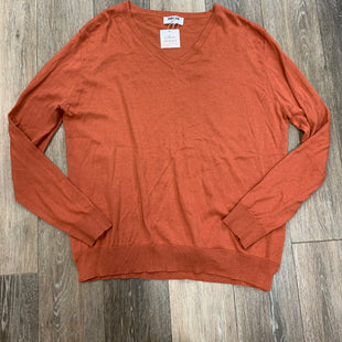 Primary Photo - BRAND: DOUBLE ZERO STYLE: SWEATER LIGHTWEIGHT COLOR: ORANGE SIZE: L SKU: 137-137107-43487