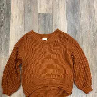 Primary Photo - BRAND: THE NINES STYLE: SWEATER HEAVYWEIGHT COLOR: ORANGE SIZE: L SKU: 137-137158-10667