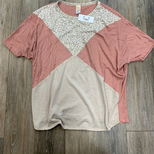 Primary Photo - BRAND:    7TH RAY STYLE: TOP SHORT SLEEVE COLOR: CORAL SIZE: L OTHER INFO: 7TH RAY - SKU: 137-137107-43484