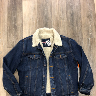 Primary Photo - BRAND: TOMMY HILFIGER STYLE: JACKET OUTDOOR COLOR: DENIM SIZE: L SKU: 137-13714-176917