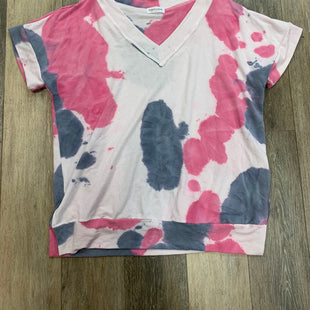 Primary Photo - BRAND: FIRST LOVE STYLE: TOP SHORT SLEEVE COLOR: TIE DYE SIZE: L SKU: 137-137107-43482