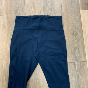 Primary Photo - BRAND: LULULEMON STYLE: ATHLETIC CAPRIS COLOR: NAVY SIZE: 12 SKU: 137-137169-9138