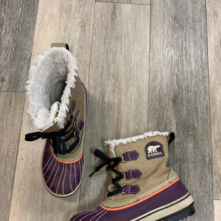 Primary Photo - BRAND: SOREL STYLE: BOOTS ANKLE COLOR: PURPLE SIZE: 7.5 OTHER INFO: AS IS: LIGHT WEARSKU: 137-137160-27872