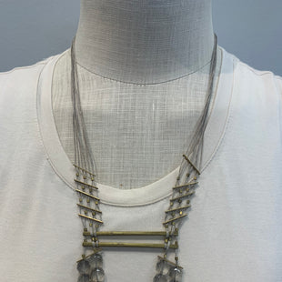 Primary Photo - BRAND: ANTHROPOLOGIE STYLE: NECKLACE COLOR: GREY OTHER INFO: SEREFINASKU: 137-13714-183982