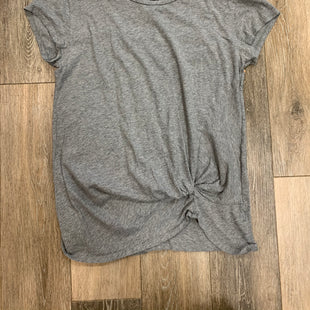 Primary Photo - BRAND: BOBI STYLE: TOP SHORT SLEEVE COLOR: GREY SIZE: M SKU: 137-13714-177353