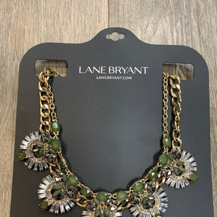 Primary Photo - BRAND: LANE BRYANT STYLE: NECKLACE COLOR: GREEN SKU: 137-137136-25614