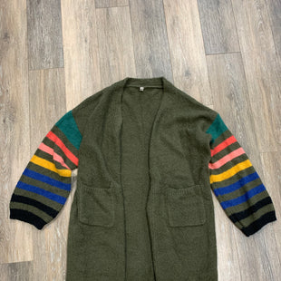Primary Photo - BRAND: WISHLIST STYLE: SWEATER CARDIGAN HEAVYWEIGHT COLOR: GREEN SIZE: M/LOTHER INFO: M/L SKU: 137-137107-43485