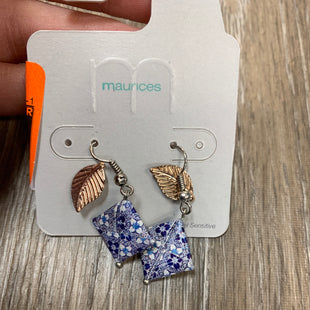 Primary Photo - BRAND: MAURICES STYLE: EARRINGS COLOR: BLUE SKU: 137-137177-23745