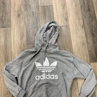 Primary Photo - BRAND: ADIDAS STYLE: SWEATSHIRT HOODIE COLOR: GREY SIZE: M OTHER INFO: OVERSIZE FITSKU: 137-13714-177363