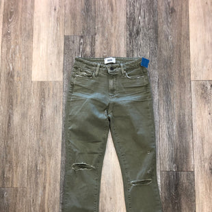 Primary Photo - BRAND: PAIGE STYLE: PANTS COLOR: GREEN SIZE: 1/25SKU: 137-137190-2596