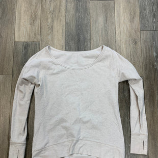 Primary Photo - BRAND: LULULEMON STYLE: ATHLETIC TOP COLOR: CREAM SIZE: M SKU: 137-13714-177352