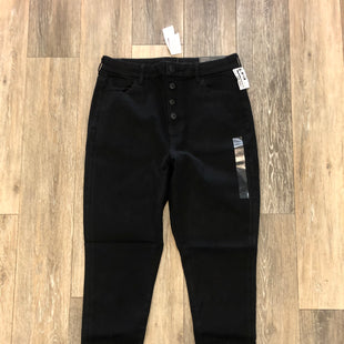 Primary Photo - BRAND: AMERICAN EAGLE STYLE: PANTS COLOR: BLACK DENIM SIZE: 14 OTHER INFO: NWT - RETAILS $49 SKU: 137-137191-6339