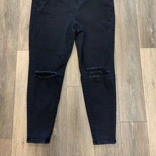 Primary Photo - BRAND: AMERICAN EAGLE STYLE: JEANS COLOR: BLACK DENIM SIZE: 22 REGULAR SKU: 137-137177-31110