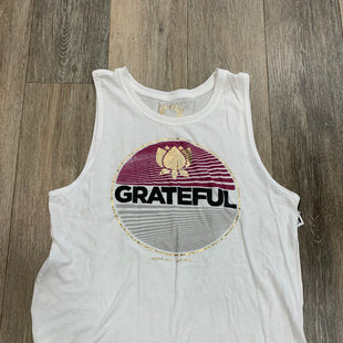 Primary Photo - BRAND: SPIRITUAL GANGSTER STYLE: TANK TOP COLOR: WHITE SIZE: M SKU: 137-13714-177345